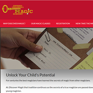 Ontario Children's Magic Academy